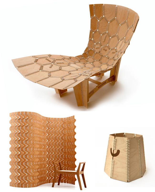Mobiliario ecológico: Emiliano Godoy