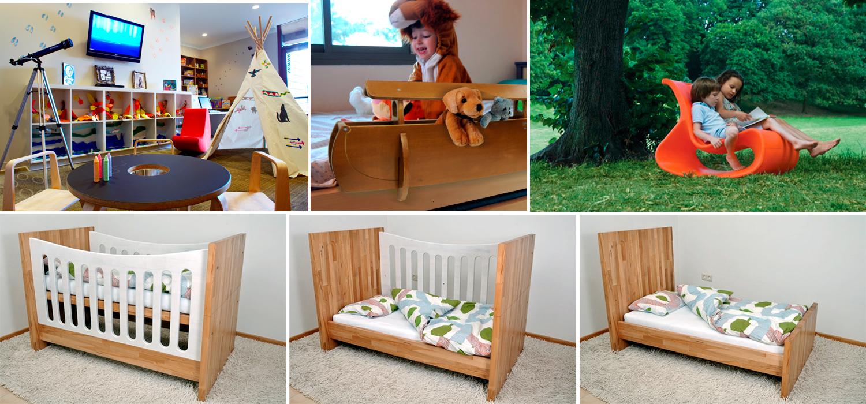 Muebles para niños ecológicos y divertidos - KÜPU
