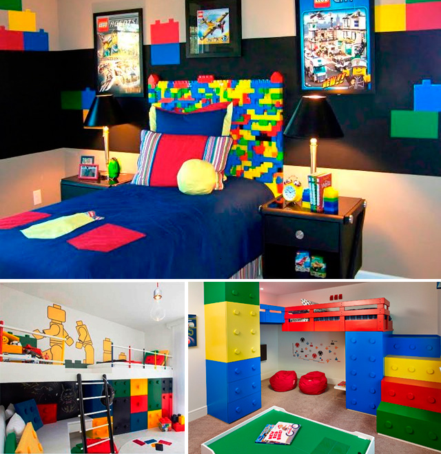 Una decoraci n original con lego kupu muebles inesperados for Muebles lego