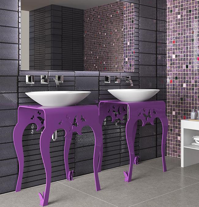 Muebles De Baño Originales:en Decoesfera dos propuestas para muebles de baño que se alejan de