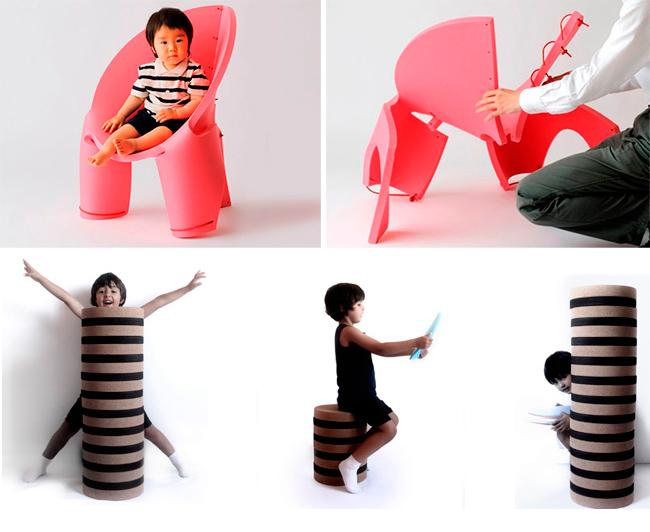 Muebles para niños: Eco
