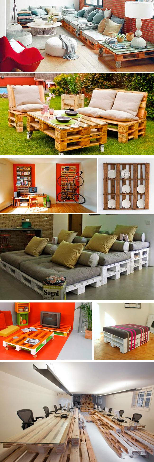 muebles originales con palets