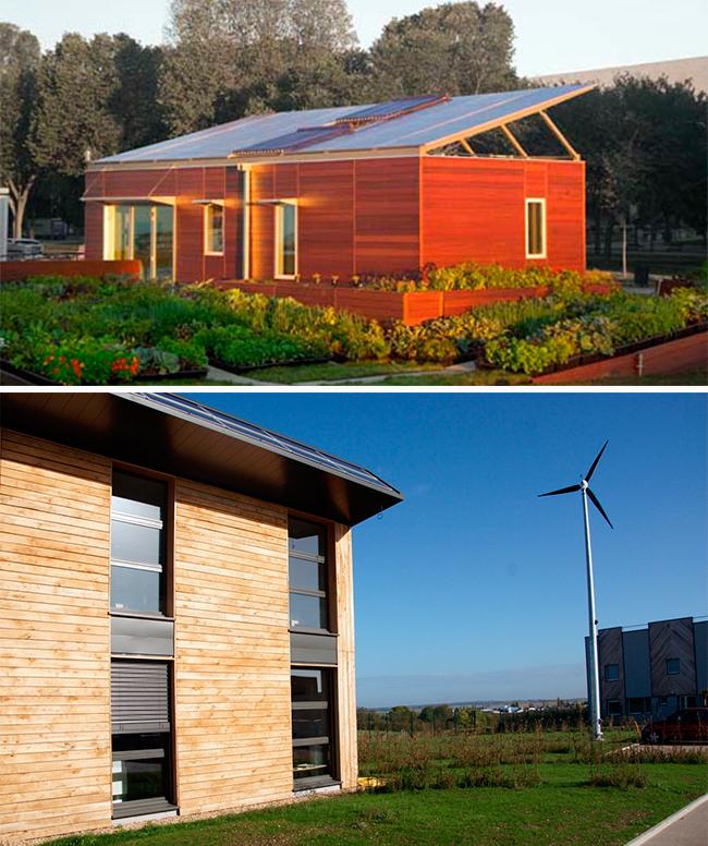 Casas bioclimáticas y energía