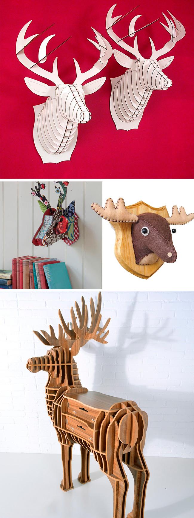 decoración original con animales
