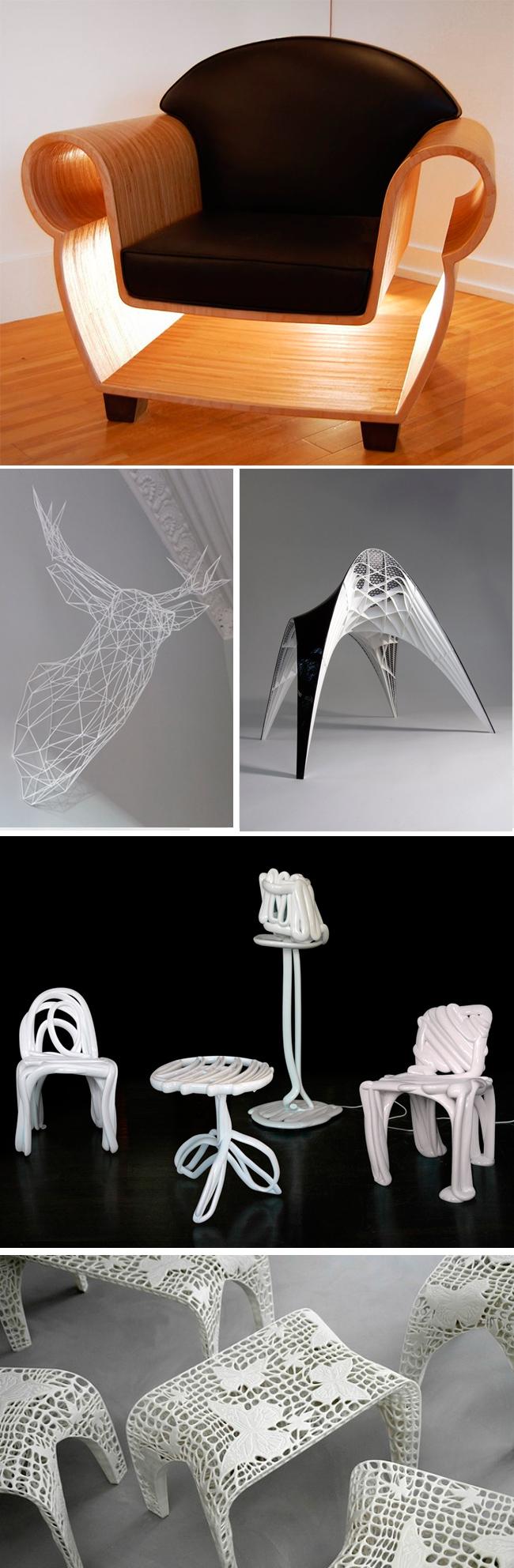 Impresoras 3d y los muebles de dise o k pu muebles for Diseno de muebles 3d online