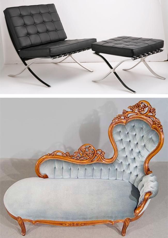 La conciencia del mobiliario de diseño