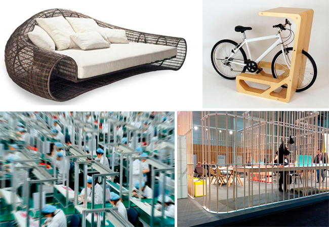 La conciencia de los muebles de diseño