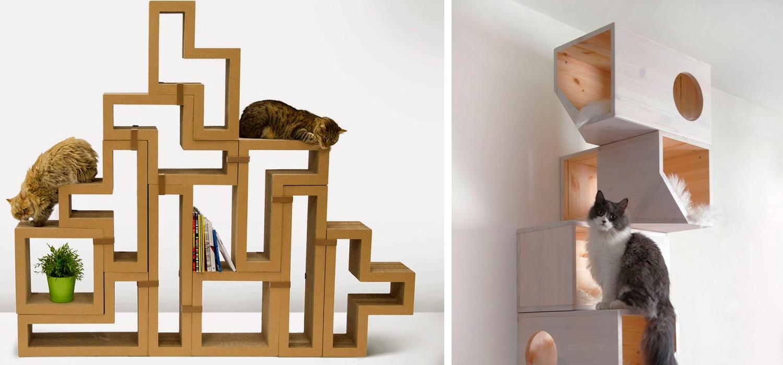 Decoraci n y mascotas i muebles para gatos kupu for Muebles para gatos ikea
