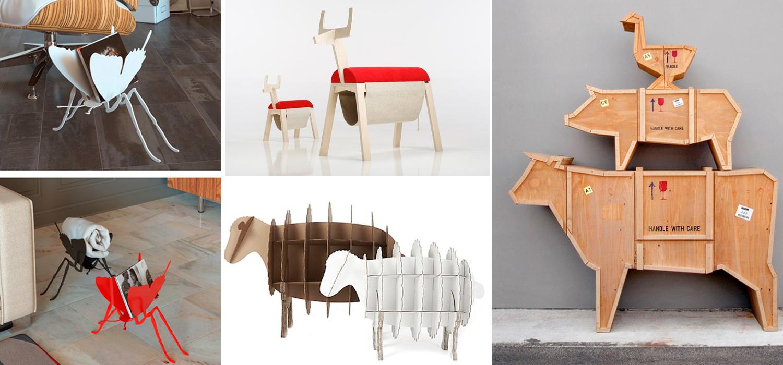 decoración original inspirada en animales