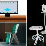 Impresoras 3D y muebles de diseño