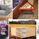 mesas auxiliares diseño